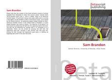 Buchcover von Sam Brandon