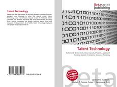 Bookcover of Talent Technology