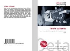 Copertina di Talent Varieties