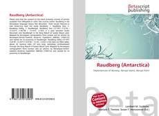 Bookcover of Raudberg (Antarctica)