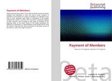 Обложка Payment of Members