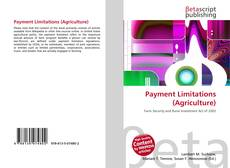 Обложка Payment Limitations (Agriculture)
