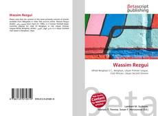 Capa do livro de Wassim Rezgui