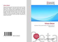 Capa do livro de Vince Dean