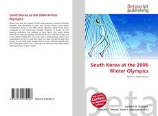 Buchcover von South Korea at the 2006 Winter Olympics