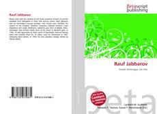 Portada del libro de Rauf Jabbarov
