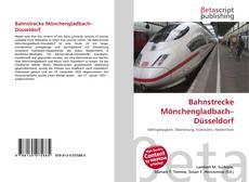 Buchcover von Bahnstrecke Mönchengladbach–Düsseldorf