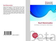 Portada del libro de Rauf Mammadov