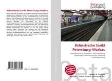 Capa do livro de Bahnstrecke Sankt Petersburg–Moskau