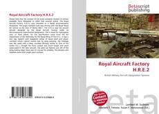 Buchcover von Royal Aircraft Factory H.R.E.2