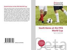 South Korea at the FIFA World Cup kitap kapağı