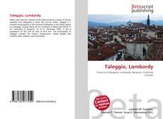 Bookcover of Taleggio, Lombardy