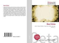 Bookcover of Raul Arias