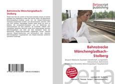 Buchcover von Bahnstrecke Mönchengladbach–Stolberg