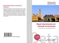 Capa do livro de Royal Commission on Awards to Inventors