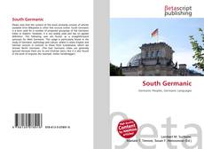 Bookcover of South Germanic