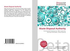 Bookcover of Waste Disposal Authority