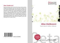 Couverture de Allee (Heilbronn)