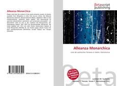 Bookcover of Alleanza Monarchica