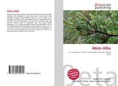 Bookcover of Abies Alba