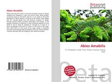 Bookcover of Abies Amabilis