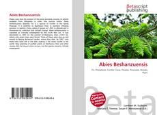 Bookcover of Abies Beshanzuensis
