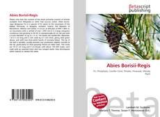 Abies Borisii-Regis的封面
