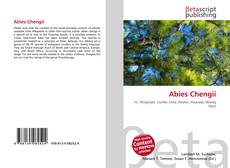 Bookcover of Abies Chengii