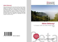 Bookcover of Abies Delavayi