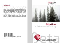 Bookcover of Abies Firma