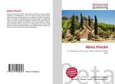 Bookcover of Abies Flinckii