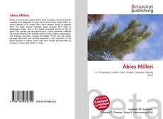 Bookcover of Abies Milleri