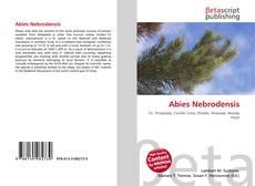 Abies Nebrodensis的封面