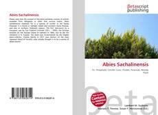 Abies Sachalinensis的封面