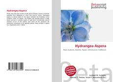 Portada del libro de Hydrangea Aspera