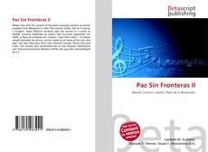 Bookcover of Paz Sin Fronteras II