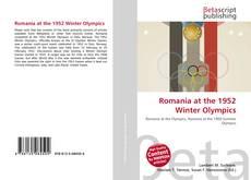 Romania at the 1952 Winter Olympics kitap kapağı