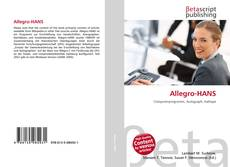 Capa do livro de Allegro-HANS
