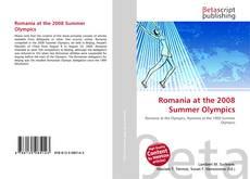 Romania at the 2008 Summer Olympics kitap kapağı