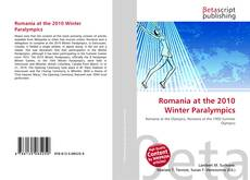 Bookcover of Romania at the 2010 Winter Paralympics