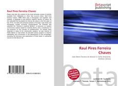Buchcover von Raul Pires Ferreira Chaves