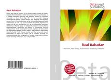 Bookcover of Raul Rabadan