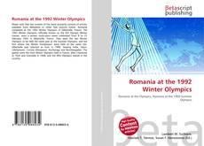 Romania at the 1992 Winter Olympics kitap kapağı