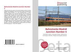 Buchcover von Bahnstrecke Madrid Junction–Number 6