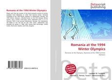 Romania at the 1994 Winter Olympics kitap kapağı
