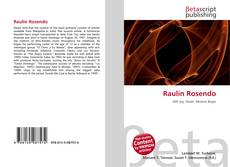 Copertina di Raulín Rosendo