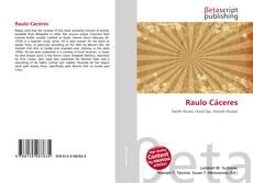 Raulo Cáceres kitap kapağı