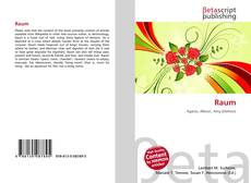 Bookcover of Raum