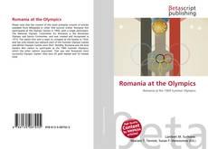 Romania at the Olympics kitap kapağı