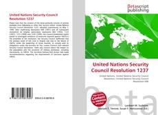 Bookcover of United Nations Security Council Resolution 1237